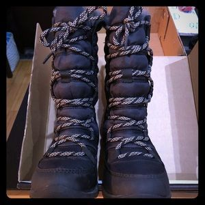Sorel lace up winter boots